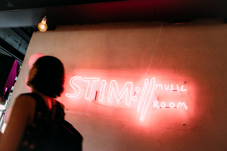 Stim music room logo